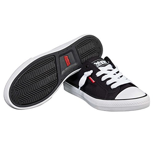Levis Womens Stan G Comfort Tech Sneaker Nero Taglia 7 M Us