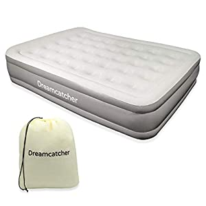 Dreamcatcher Deluxe King Size Air Bed with Built-in Electric Pump, Inflatable Mattress King with Pump, Camping & Sleepovers