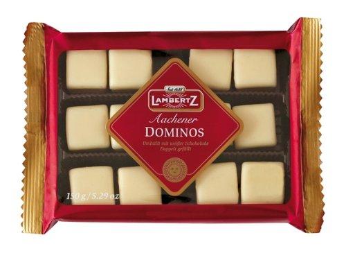 Lambertz Gingerbread Dominos White Gift 150g