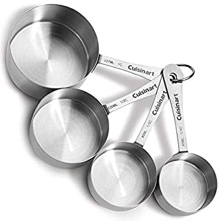 Cuisinart CTG-00-SMC Stainless Steel Measuring Cups, Set of 4,Silver