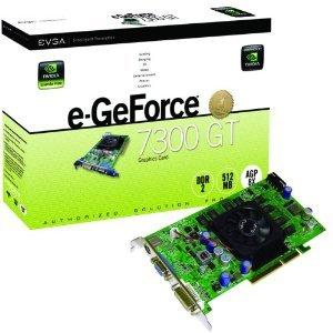 512 A8 N501 CR - evga 512 A8 N501 CR eVGA e-GeForce 7300GT Superclocked 512MB AGP Graphics Card-512-A8-N501