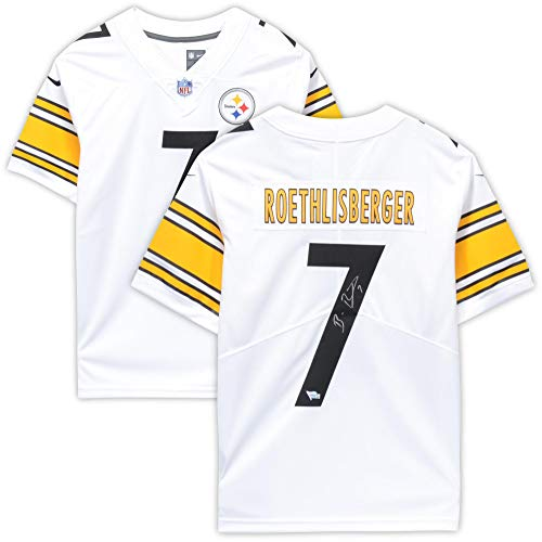 Ben Roethlisberger Authentic Jersey - Ben Roethlisberger Pittsburgh Steelers Autographed White Nike Limited Jersey - Fanatics Authentic Certified
