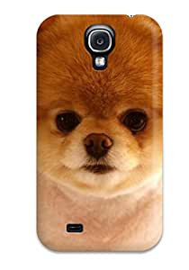 Protective Tpu Case With Fashion Design For Galaxy S4 (beautiful Cute Dog Boo )