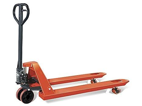 Transpaleta Manual 2500 kg a rueda individual: Amazon.es: Bricolaje y herramientas