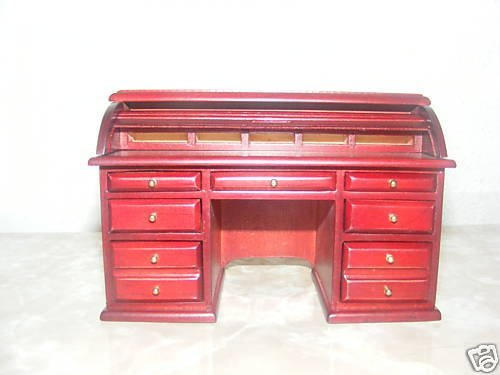 The Dolls House Emporium Victorian Roll- - Mahogany Roll Top Shopping Results