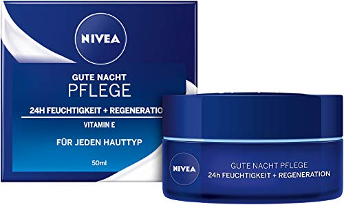 Nivea Pflegende Gute-Nacht-Creme Regenerierende, 50 ml
