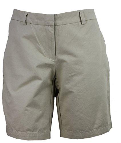 Tommy Hilfiger Womens Bermuda Shorts, Shore Khaki,