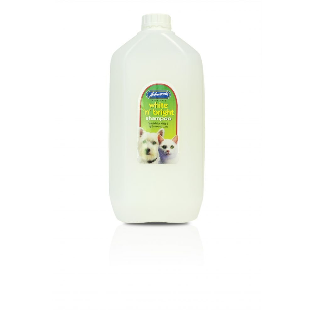Johnsons Perro Gato Blanco N brillante Grooming Champú para abrigos: Amazon.es: Productos para mascotas
