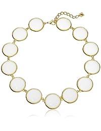 "Karen Kane Palm Park Organic Collar Necklace, 18"" + 2"" Extender"