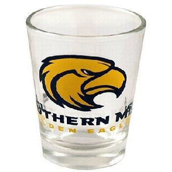 (NCAA Southern Mississippi Golden Eagles Logo Shotglass)