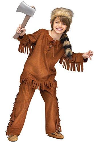Mememall Fashion Frontiersman Native American Indian Child Costume (Child Blue Ranger Muscle Costume)