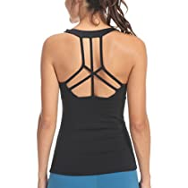Queenie Ke Womens Yoga Tops Clothes Workouts Tank Strappy Back Sport Tank Tops