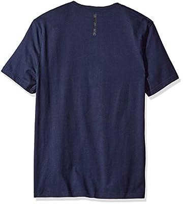 Calvin Klein Jeans Men's Short Sleeve Rainbow Logo V-Neck T-Shirt