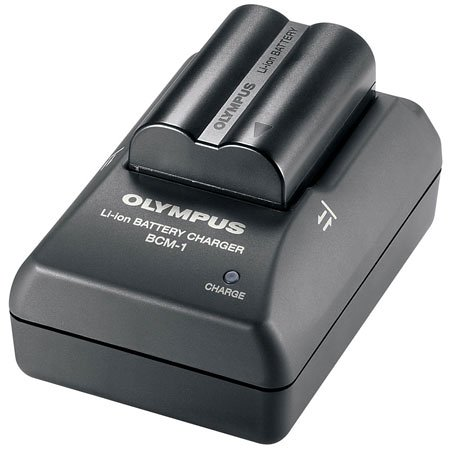 Olympus BCM1 Battery Quick Charger for C7070, C8080, E1, E300 & E500 Digital Cameras
