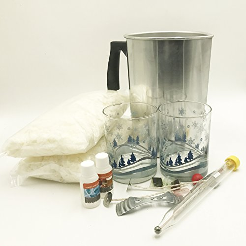 100% Soy Candle Making Kit by Candlewic (Winter)