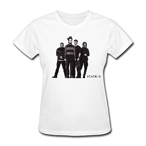 RZF Women's Staticâ€X Number T-Shirt-L White ()