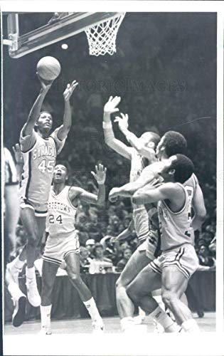 Syracuse Orange Photo - Historic Images - 1982 Vintage Press Photo Syracuse Orange Men Basketball Wendell Alexis - snb13751