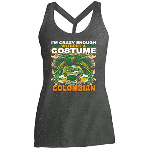 Women's Colombian Costume Halloween Funny Gifts Shirt - Tank Top]()