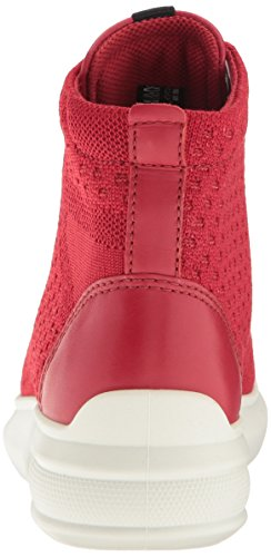Chili Red Chili ECCO Fashion Women's 3 Sneaker Red Soft wqYXOYp