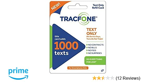 Tracfone 1000 texts for $5