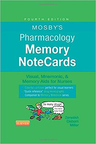 mosby's pharmacology memory notecards ebook download