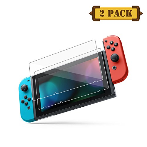 Pasnity Screen Protector for Nintendo Switch 2017