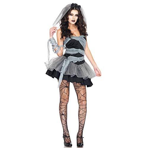 Ambiguity Halloween Costumes Women Halloween Costumes Women Halloween Costume Ghost Bride Witch Princess Dress Vampire Costume Cosplay Costume -