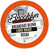 Brooklyn Beans Breakfast Blend Decaf Coffee Pods for Keurig K Cups Coffee Maker, 40 Count