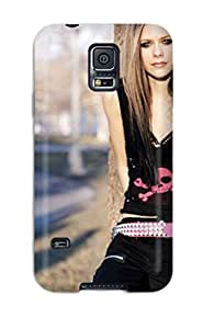 Galaxy S5 Case, Premium Protective Case With YY-ONE Look - Celebrity Avril Lavigne