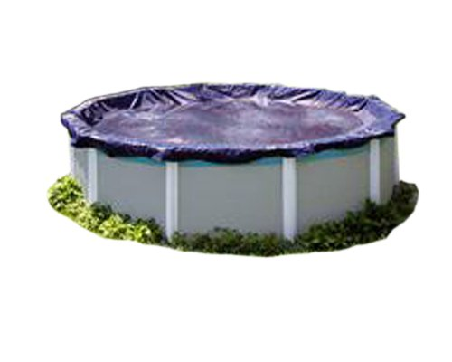PoolTux 7731AU Royal Winter Cover for 28-Feet Round Above Ground Pool