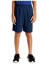 Hanes Boys Sport 9-inch Performance Shorts with Pockets, XL, Navy