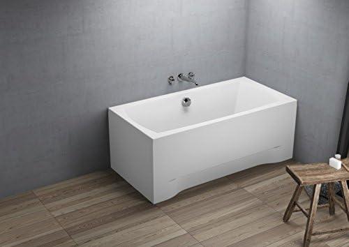 Capri New rectángulo bañera [acabado: 140 cm x 70 cm x 54,5 cm ...