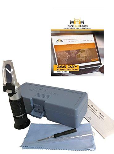 Mack Diesel Engine - Diesel Laptops UREA Diesel Exhaust Fluid (DEF) Refractometer with TruckFaultCodes License