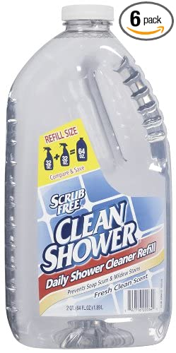 Arm U0026 Hammer Clean Shower Refill, 64 Oz (Pack Of ...