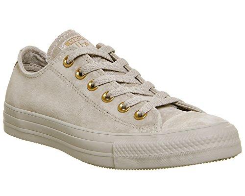 Converse Ledersneaker CT AS OX 157569C Grau Mushroom Blush Gold Exclusive