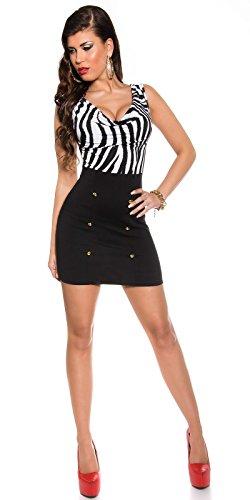 In-Stylefashion - Vestido - para mujer Cebra