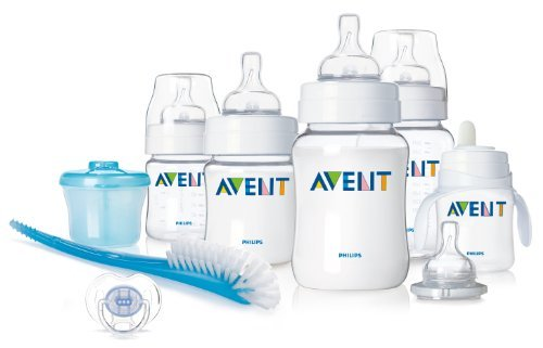 Philips AVENT BPA Free Classic Infant Starter Gift Set, Pack of 2 by Philips AVENT (Image #1)