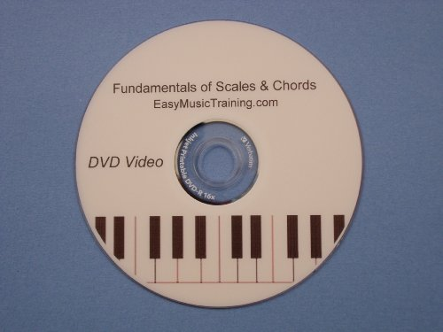 Learn How to Play Piano / Keyboard Fundamentals of Scales & Chords DVD Music Lessons