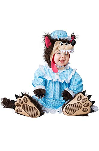 Fun World Baby Not So Big Bad Wolf, Multi, XS -