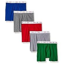 Hanes Toddler Boys' Boxer Briefs w/Comfort Flex Waistband 5-Pack