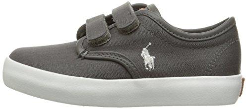 Pictures of Polo Ralph Lauren Kids Waylon Ez Sneaker Grey M 5