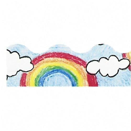 (Trend Terrific Trimmer(R), 2 1/4 x 39ft., Rainbow by Trend Enterprises Inc)