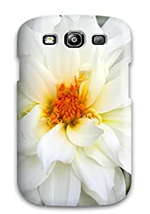 Nafeesa J. Hopkins's Shop New Style 1377536K40432675 New Style White Flowers Premium Tpu Cover Case For Galaxy S3