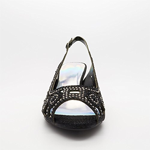 Footwear Donna Petrona Zeppa London Da Sandali Neri Con gwCxqT