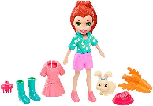 Polly Pocket! Sort Boneca com Bichinho Mattel