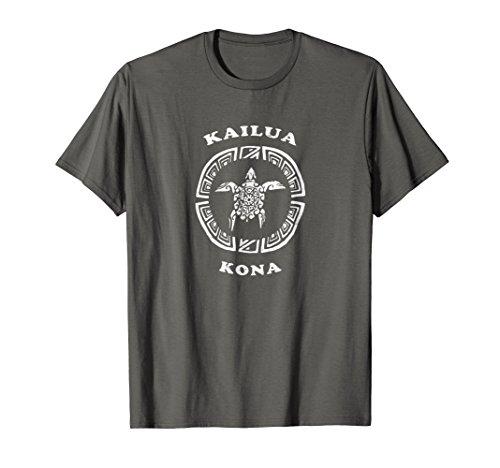 Kailua Kona T-Shirt Vintage Tribal Turtle Tshirt