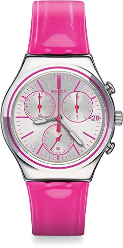 SWATCH watches IRONY CHRONO PROUD TO BE PINK YCS587 Men's [regular imported goods]