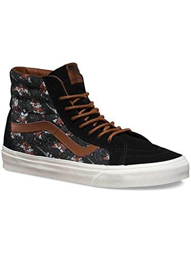 Vans Unisex Sk8-Hi Slim Damen Skateschuh (Samurai-Krieger) Schwarz
