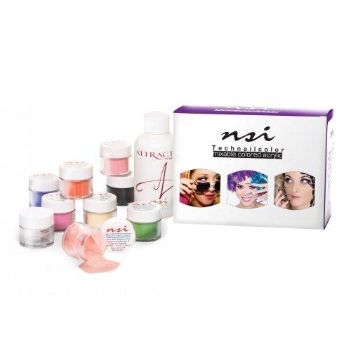 NSI Technailcolor Mixable Colored Acrylic Kit