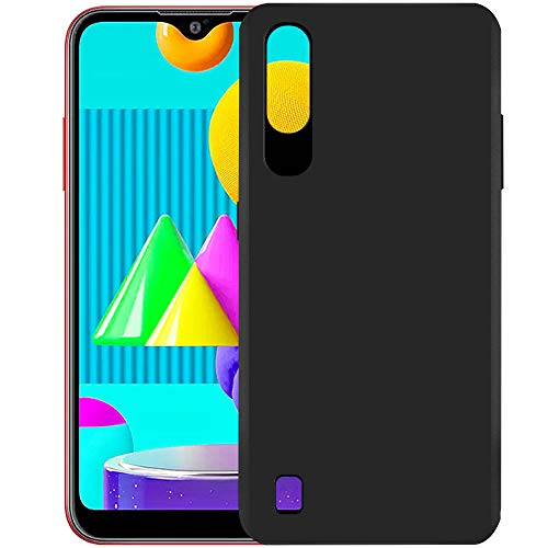 Hupshy Soft TPU Back Cover for Samsung Galaxy M01 - Black (B089S96MHP) Amazon Price History, Amazon Price Tracker